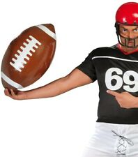 Toy Inflatable American Football Quarterback Sports Fancy Dress Outfit Accessory