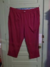 Woman Within Womens 34WP Plus Petite Cranberry Pants Slip On Inseam 28 Stretchy