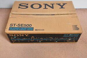 Boxed Vintage Sony FM Stereo / FM AM Turner ST-SE500 Eon Link System & manuals