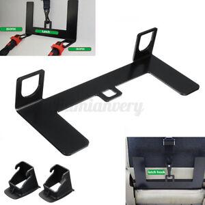 Universal Steel Car Child Safety Seat Belt Latch Bracket For ISOFIX Mount  F U