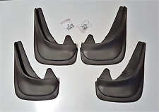 Top Quality Universal BMW 520d Black Rubber Car Moulded MUDFLAPS Full set