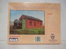 Ho 1:87 Scale Locomotive Maintenance Building Kit Ihc New in Sealed Box 4103