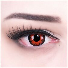 Coloured Contact Lenses Red Volturi Contacts Color Carnival + Free Case