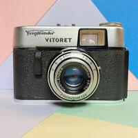 Voigtlander Vitoret Compact 35mm Camera! 2.8 50mm Vaskar Lens Basic, Lomo Retro