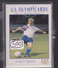 (500) 1992 US OLYMPIC HOPEFULS DARIO BROSE CARDS #65 ~ GIANT LOT ~ SOCCER