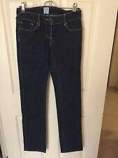 Sass and Bide Dark Denim Straight Legged Jeans Size 25 (XS)