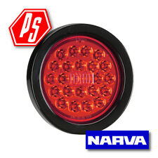 NARVA 9-33V LED REAR STOP LAMP KIT WITH GROMMET & LEADS RED 94046