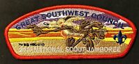 GREAT SOUTHWEST COUNCIL NM OA 66 2010 JAMBOREE BSA 100TH CSP LOONEY TUNES COYOTE