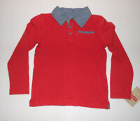 Levi's Boys Red  Long Sleeve Top Size- 4 or 7 NWT