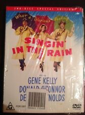 SINGIN IN THE RAIN Gene Kelly Special Edition 2 New Unsealed DVD R4