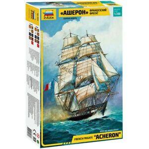 """Zvezda 9034 """"Acheron"""" /french frigate/ 1/200"""