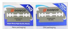 1000 Dorco Blue Double Edge Razor Blades Platinum Plus-BRAND NEW-FAST SHIPPING