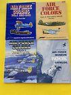 Air Force Colors 3 Volume Set 1 2 & 3 Squadron Signal Publications and Catalog