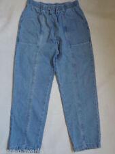 Jeans da donna gamba dritta in denim