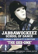 Jabbawockeez School of Dance Lesson 3 - Musicality & Rhythm (DVD, 2012) NEW