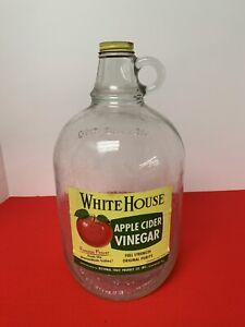 Vintage White House Apple Cider Vinegar Gallon Jug