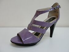 Peter Kaiser Hima purple patent open toe sandals, UK 4/EU 37,  RRP £115, BNWB