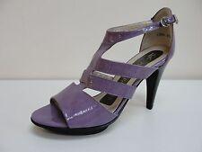 Peter Kaiser Hima purple patent open toe sandals, UK 7/EU 40, RRP £115, BNWB