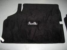 Chevelle or Malibu Custom Trunk Carpet with Logo 1968-1972 - Made in the U.S.A.!