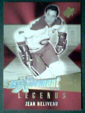 JEAN BELIVEAU  05/06 SPx XCITEMENT LEGENDS INSERT GOLD CARD /99  *SP*