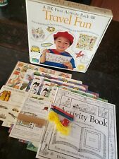 NIP Travel Fun DK First Activity Pack Great for Car Plane Train