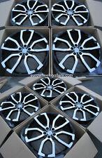 """22"""" Wheels For Range Land Rover HSE LR3 LR4 Super Charger 22-Inch Rims Set (4)"""