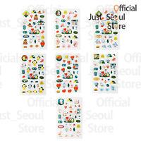 Official BTS BT21 Green Planet Clear Sticker +Freebie +Free Tracking KPOP