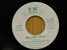 Little Brother Montgomery Trio 45 Mini-Skirt Blues / Red's Boogie - FM VG++