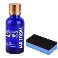 1-5x 9H Nano Ceramic Car Glass Coating Liquid Hydrophobic AntiScratch Auto Care