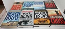 James Patterson Novel Hardcover Book w/Dustcover - Choice - Excellent condition!