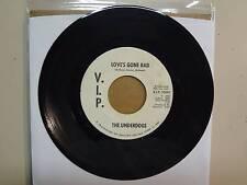 "UNDERDOGS:Love's Gone Bad 2:27-Same-U.S.7"" 1966 V.I.P.-25040 DJ Label,Detroit MI"