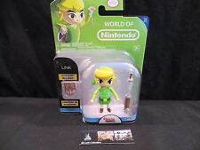 """Toon Link Legend of Zelda Windwaker action figure 3.75"""" World of Nintendo toy"""