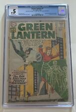 GREEN LANTERN #7 CGC 0.5 1961 O-W PAGES ORIGIN AND 1ST APPEARANCE OF SINESTRO