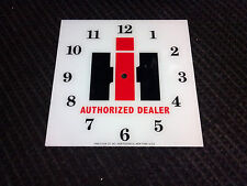 """*NEW* 15"""" IH INTERNATIONAL HARVESTER HOT ROD SQUARE GLASS clock FACE FOR PAM"""