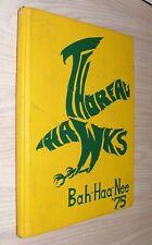 Thoreau Hawks Yearbook 1975 - Bah-Haa-Nee