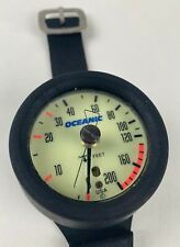 Never Used! Oceanic 200' depth gauge for scuba diving