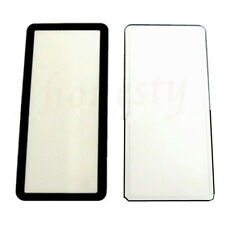 1pc Pratical Outer LCD Display Window Glass +Tape For Canon EOS 5D 5D2 5D3