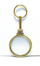 GEORGIAN GOLD FILLED EYE LOOP FOB PENDANT 11.9 GRAMS