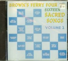 BROWN'S FERRY FOUR - SIXTEEN SACRED SONGS VOL.2 - CD - NEW