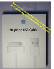 ORIGINAL APPLE USB DATA CABLE COMPATILBE  -  IPAD IPOD IPHONE 2G 3G 3GS 4G 4S