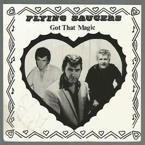 Flying Saucers - Got That Magic: From The Heart Vol.1 RARE 1986 UK EP VG+/VG