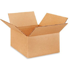 25 8x8x4 Cardboard Paper Boxes Mailing Packing Shipping Box Corrugated Carton