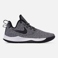 AO4433-002 Nike LeBron Witness III Basketball Dark Grey/Black-White 8-13 NIB