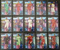 2020 Match Attax Extra UEFA - Set of Champions / Title Winners inc Messi Ronaldo
