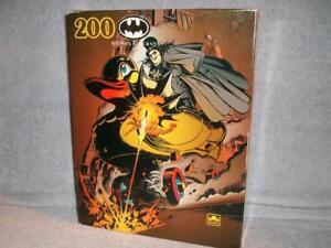 Batman Returns The Penguin 200 Piece Puzzle Golden 1992 Vintage New Sealed