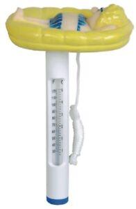 Schwimmbecken Wasserthermometer Schwimmbad Pool Thermometer Frau