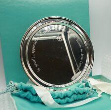 "Tiffany Co Makers Sterling Silver 8"" Dish Plate 25 Years Avon Customer Appreci."