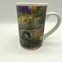 Thomas Kinkade Cobblestone Village Coffee Cup Mug 8oz Ceramic 1998