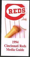 1994 Cincinnati Reds MLB Baseball Media GUIDE