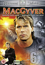 MacGyver - Series 6 - Complete (DVD, 2010, 6-Disc Set, Box Set)